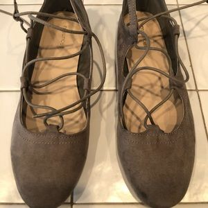 Maurice's Lace Up Flats